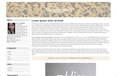 gratis design uten header til blogg gratis design 6 nerdie me design