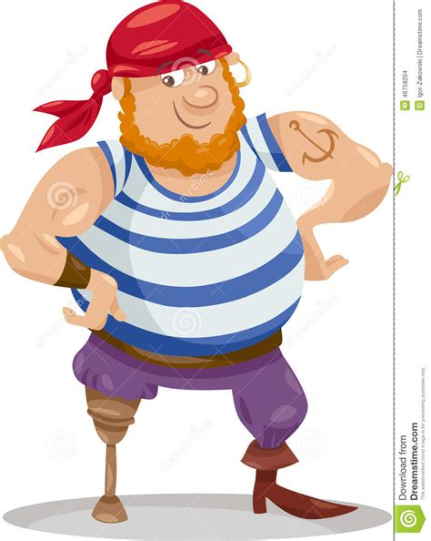 boatswain funny bosun cartoons illustrations vector stock images 20