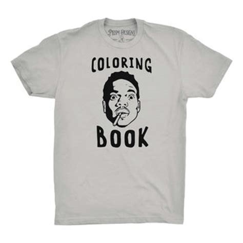 coloring book chance the rapper merchandise best chance the rapper shirts products on wanelo