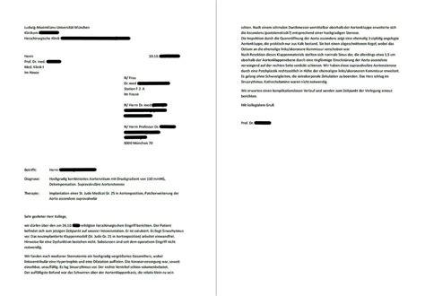 Vorlage Antrag Kostenerstattung Psychotherapie Arztbrief