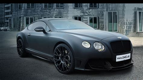 bentley blacked bentley continental gt matte black image 250