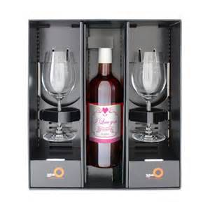 personalised rose wine gift set by sassy bloom as seen on