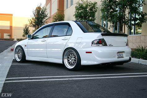 mitsubishi evo white white mitsubishi evo 9 ccw classic wheels ccw wheels