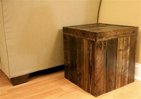build storage ottoman diy storage ottoman ideas from recycle crates and pallets