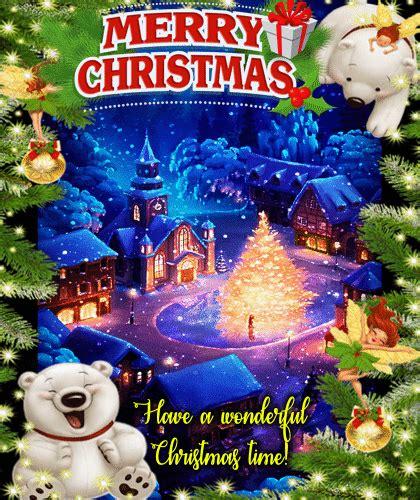 wonderful christmas ecard  merry christmas wishes ecards