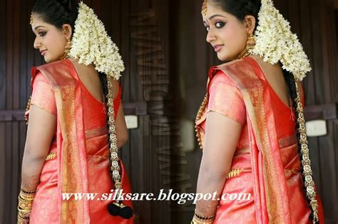Kerala Wedding Hairstyles Image by Indian Wedding Silk Saree Jewellery Wedding Hair