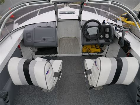 quintrex wake boat used boats