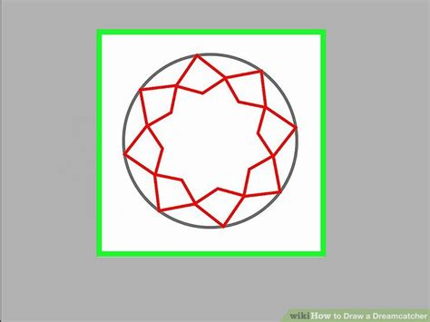 dreamcatcher how to how to draw a dreamcatcher 13 steps with pictures wikihow