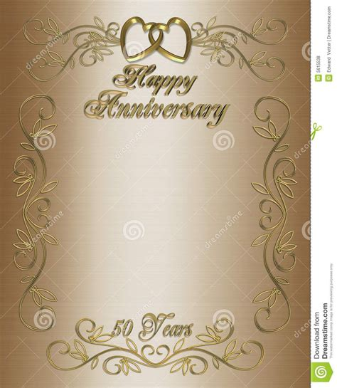 anniversary invitation template 50th wedding anniversary layouts 50th anniversary