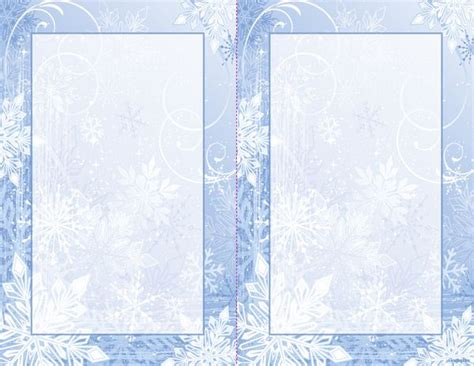 winter invitation template free winter invitation free templates
