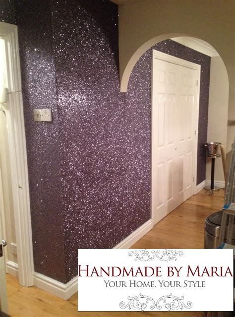glitter wallpaper decorator glasgow glitter wallpaper handmade by maria