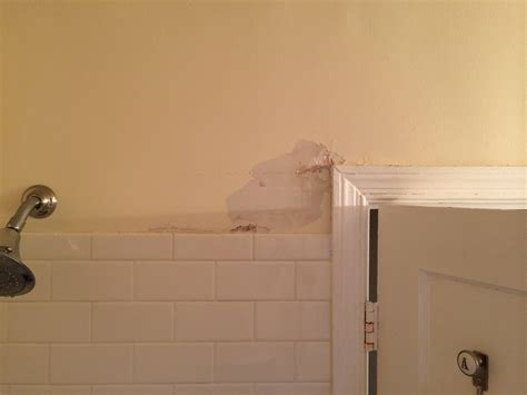 bathroom drywall repair what should i use to repair plaster in a bathroom home