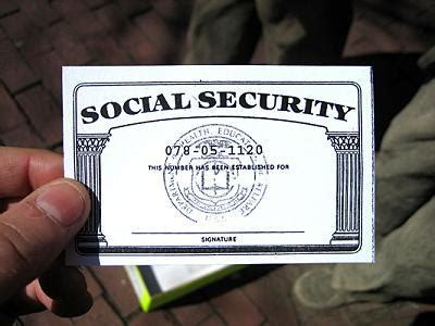 social security card template side social security card back side
