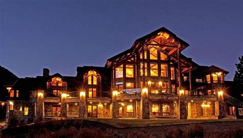 The Dining Room Miami by Mammoth Log Home Has World S Biggest Antler Chandelier