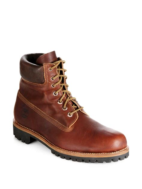 Timberland Earthkeepers Rugged Brown by Timberland Earthkeepers Heritage Rugged Waterproof Boots