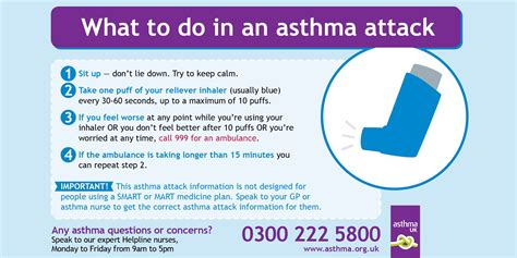 asthma attack asthma attacks asthma uk