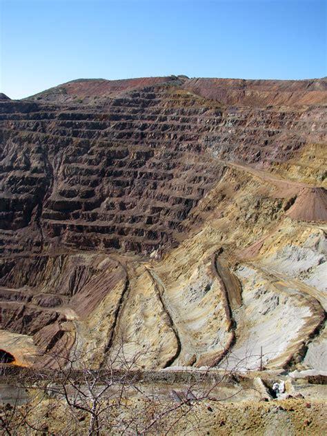 arizona pit the lavender pit a copper mine bisbee arizona travel