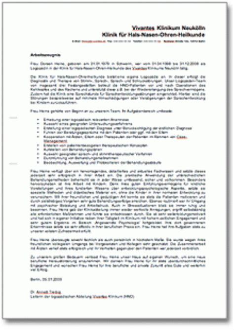 Anschreiben Qualifiziertes Zwischenzeugnis Arbeitszeugnis Quot Sehr Gut Quot Logop 228 Din
