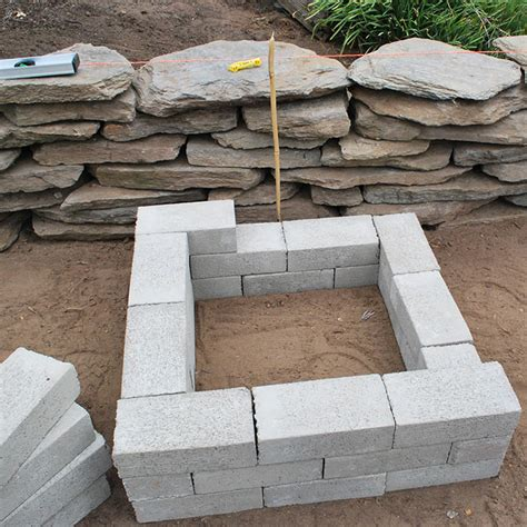 Diy Brick Firepit Southern California Gardening Simple Diy Pit