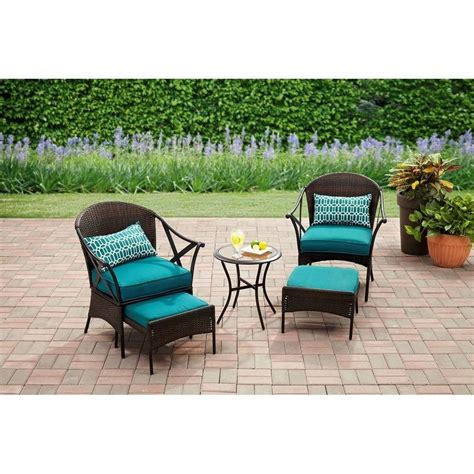 Walmart Patio Tables Wrought Iron Patio Furniture Walmart