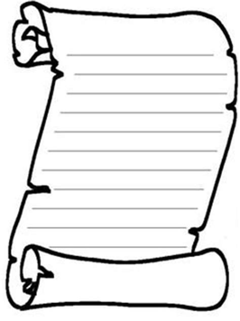 free scroll template clipart best