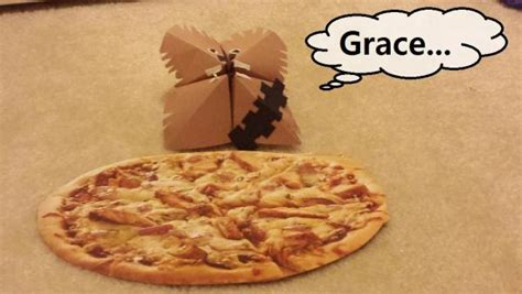 Origami Pizza - pizza for chewie origami yoda