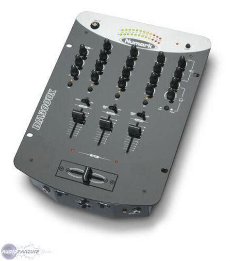 numark console dm3000x numark dm3000x audiofanzine