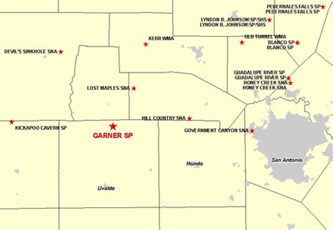 garner state park map tpwd january 28 2010 commission meeting agenda item 19