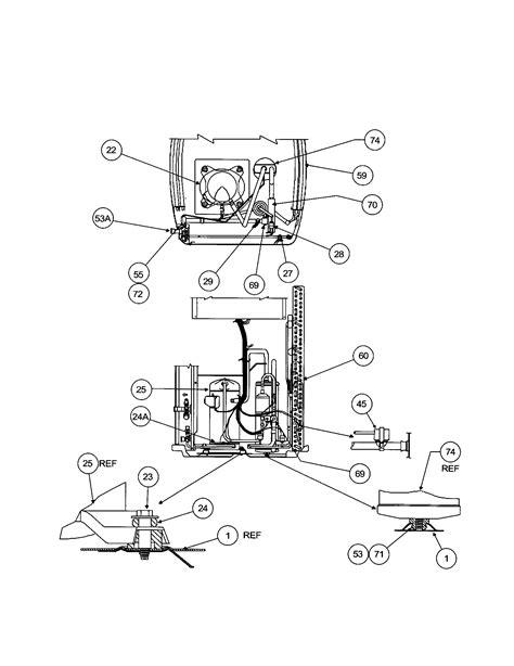 carrier air conditioner parts diagram compressor condenser diagram parts list for model