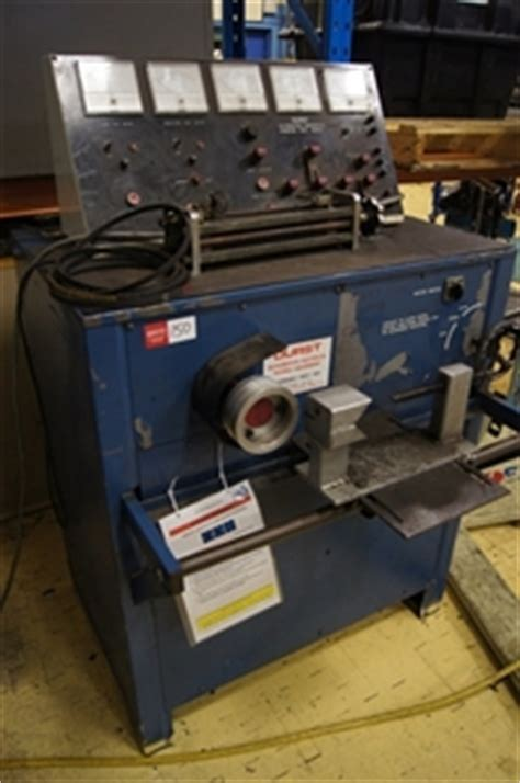 bench testing a starter alternator generator starter test bench durst model 600