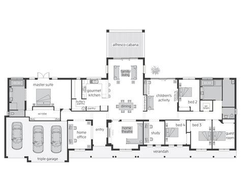 Floor Layout Plans Bronte Act Floorplans Mcdonald Jones Homes