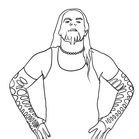 wwe coloring page az coloring pages