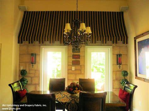 custom built inside awning for breakfast room by j j