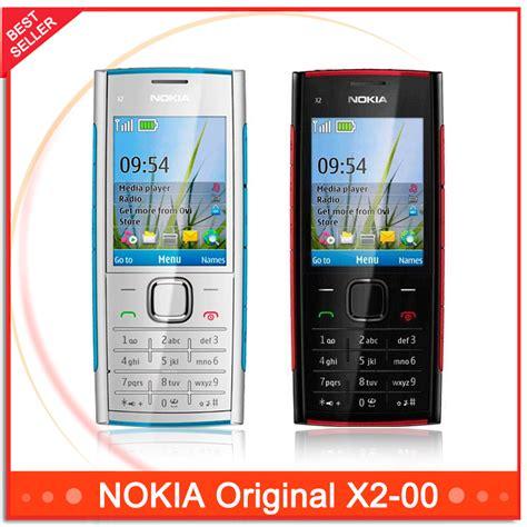 Hp Nokia X2 Java original unlocked x2 original nokia x2 00 bluetooth fm java 5mp cell phones free shipping in