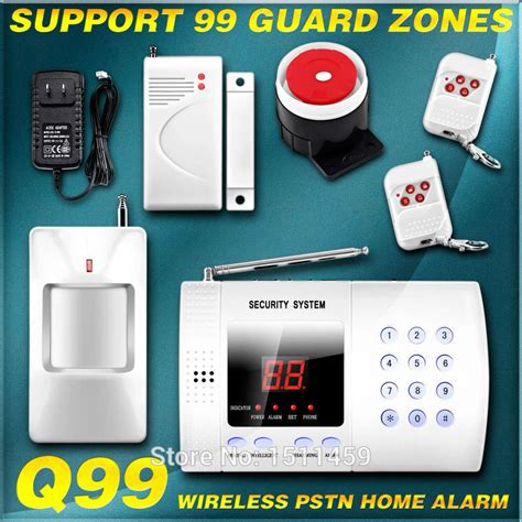 99 wireless defense guard zones pstn telephone landline