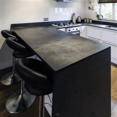 slate bar top bespoke cut counters and work surfaces in slate to clients