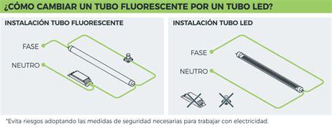 la tubo 191 c 243 mo cambiar tubos fluorescentes por tubos led