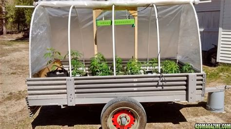 diy wagon diy mobile grow wagon