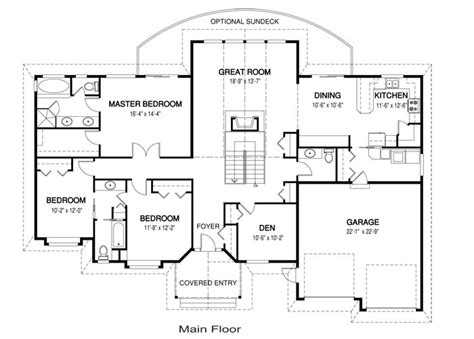 one floor home plans one story home plans single family house plans 1 floor home pla new original thraam