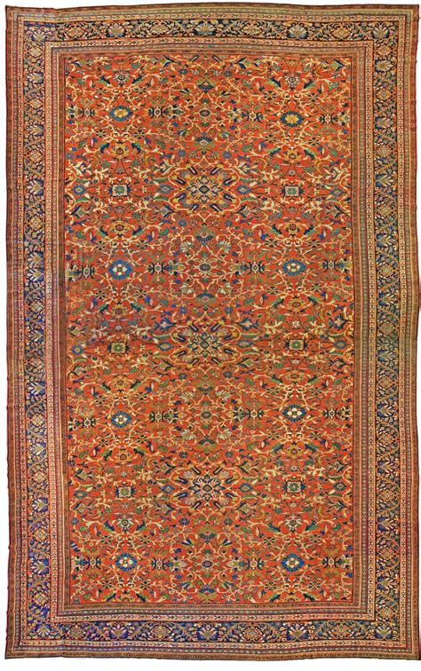 Oversized Rugs by Oversized Antique Sultanabad Rug Size Adjusted