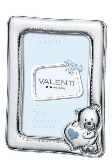 cornici argento battesimo cornice portafoto baby argento valenti 73108 regalo