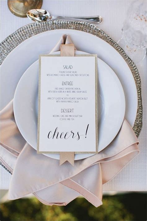 how to make wedding place setting cards 20 impressive wedding table setting ideas modwedding