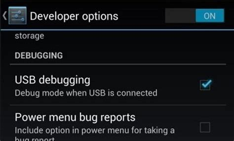 android turn developer mode how to enable the developer options on your samsung galaxy s4 171 samsung gs4