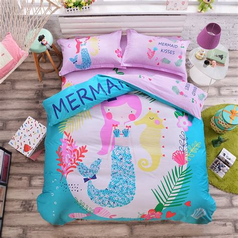 Mermaid Bedding by Mermaid Comforter Reviews Shopping Mermaid