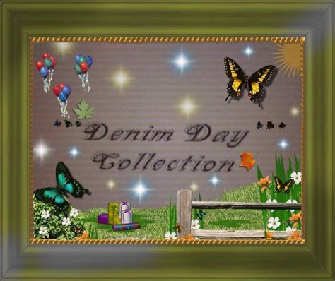 Denim Days Home Interior Home Interiors Gifts Homco Denim Days Picture Book Complete Ebay