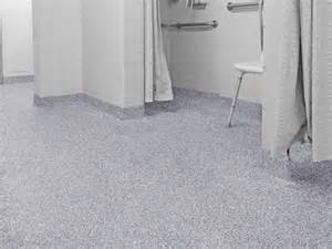 Waterproof floor coating public restroom epoxy flooring