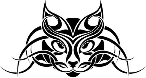 tattoo animal clipart cat tribal tattoo animal pictures free designs free