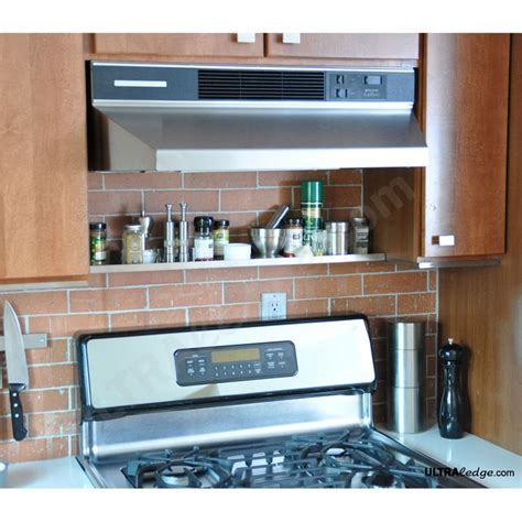 Shelf Above Range by Stainless Steel Shelf Above The Range 30in X 5in