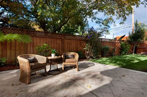 houzz backyard patio small home traditional patio