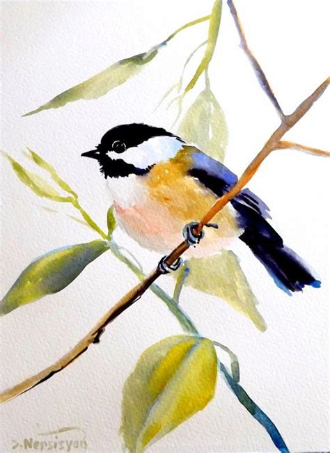watercolor tutorial chickadee 212 best watercolor painting images on pinterest